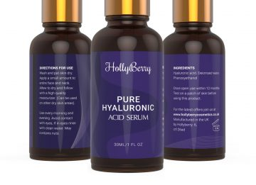 Pure hyaluronic acid Hollyberry cosmetics
